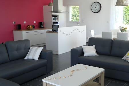 Maison proche Cabourg, jardin clos 7/9 voyageurs - Petiville - Huis