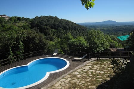 Beautiful Italian holiday villa - Montasola - 独立屋