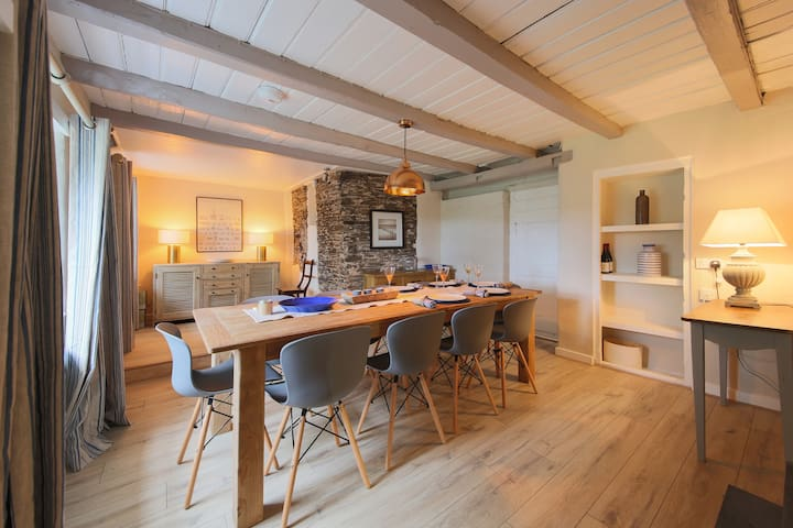 Luxury 5 bed Cornish Farmhouse Nr Padstow/Rock - Saint Issey - Huis