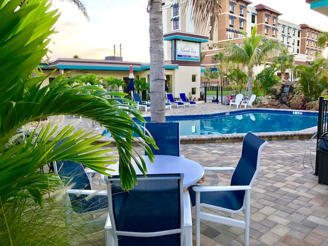 2 Bedroom Suite On Clearwater Beach Boutique Hotels For Rent In Clearwater Florida United States
