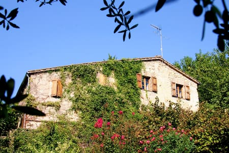 700 year old farmhouse with pool - Collicello - Villa
