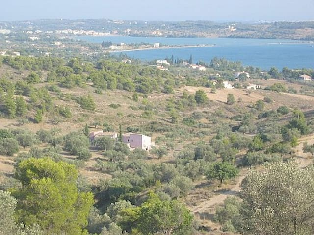Porto Heli secluded house with view