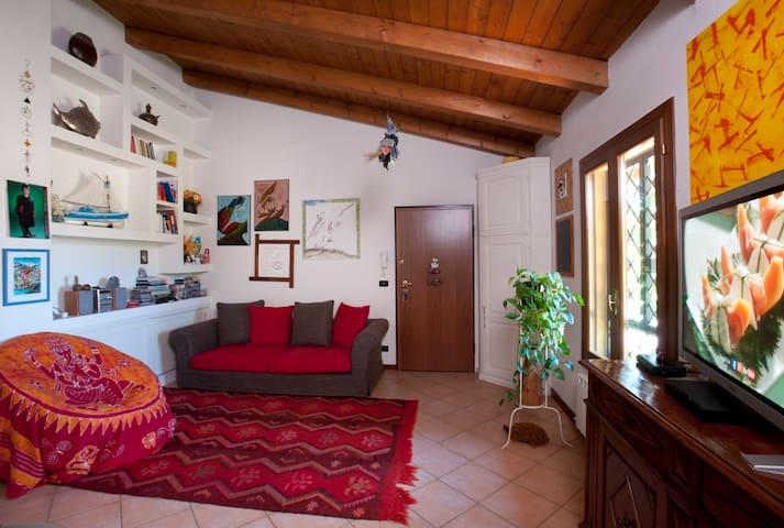 Accogliente appartamento con vista - San Lazzaro - Apartamento