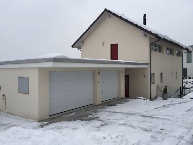 Traumhaftes Haus mit Fernsicht! - Remetschwil - Hus