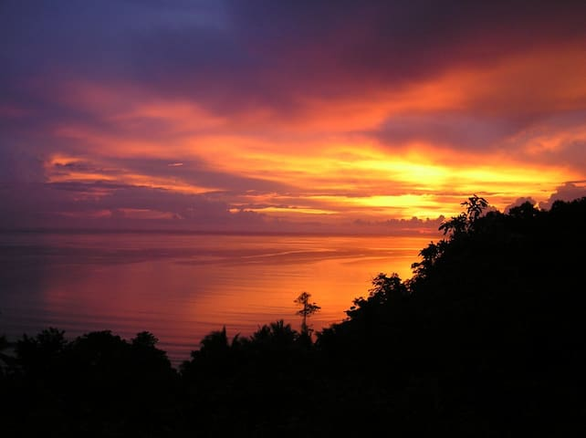 Breath taking Sunsets from your Bedroom Terrace are part of the Package.