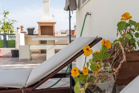 Top appartement met dakterras in Ferragudo centrum
