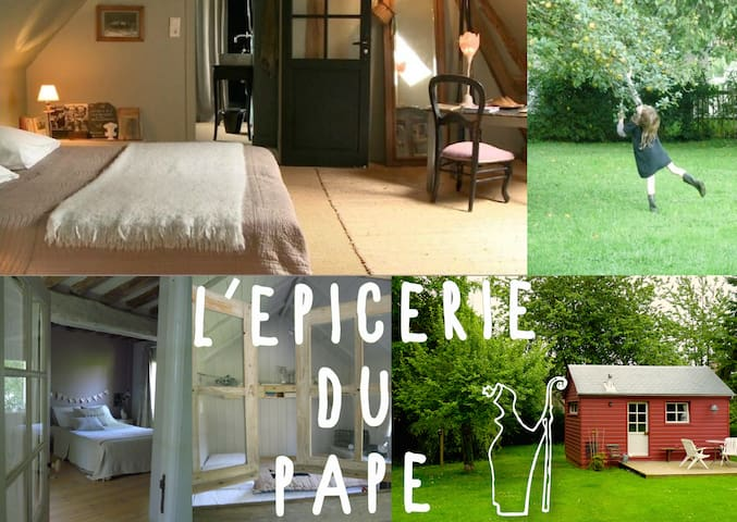 "l'épicerie du pape"" b&b"" - Vascœuil - Bed & Breakfast"