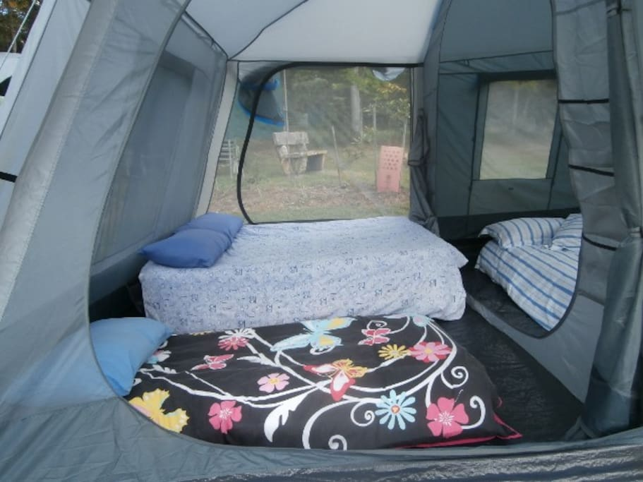 Tent 1 two bedrooms