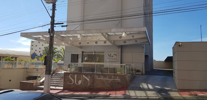 Flat no centro Araraquara com excelente acomodação