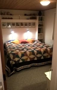 Nær Vesterhavet privat værelse - Brovst - Haus
