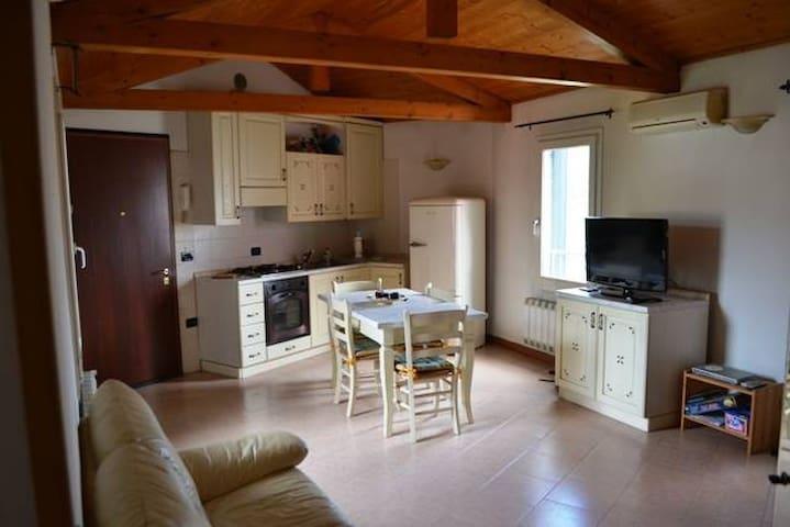 Fronte Villa in Riviera Naviglio - Stra VE - Apartamento