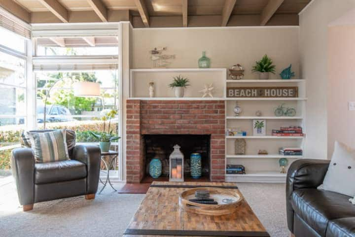La Jolla Shores Mid-Century Home 2 Blocks to Beach