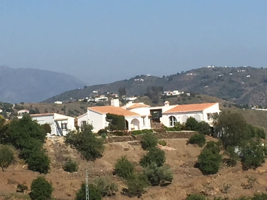 vue d'ensemble de la maison