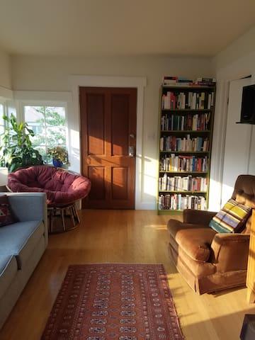 Living room sunshine