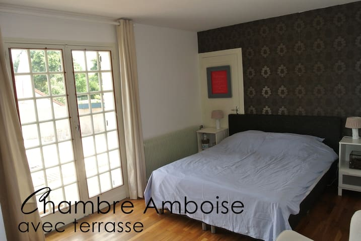 Chambre Amboise - Saint-Amand-Montrond - Bed & Breakfast