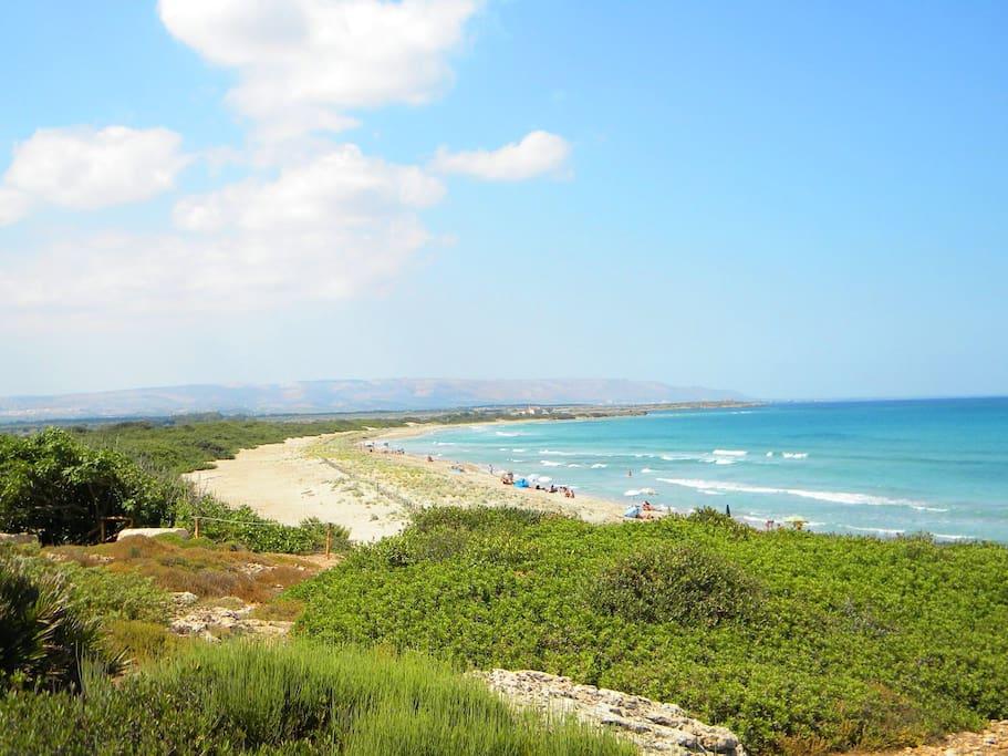 Natural reserve of Vendicari - Citadella beach
