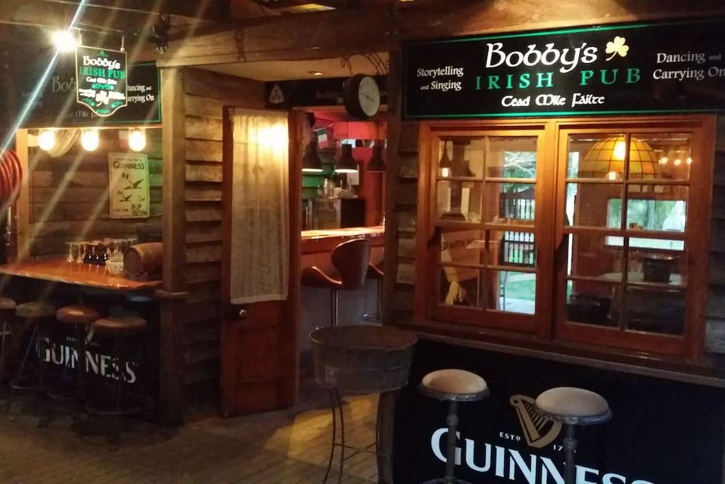 Irish Pub (rear of saloon)
