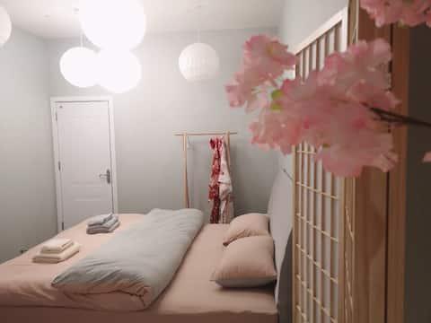 『桜沐』温泉入户/和服体验/两室一厅/千古情/天沐/明月山