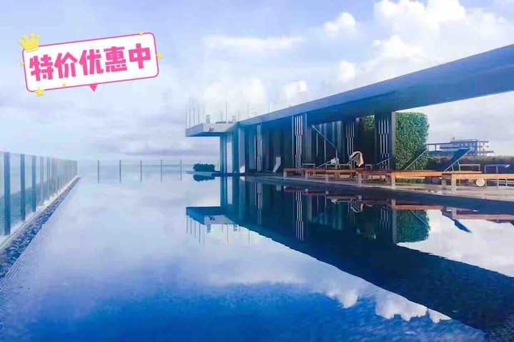 泰国芭提雅-The  Base公寓  海景房  比邻商场  300米海滩特价中