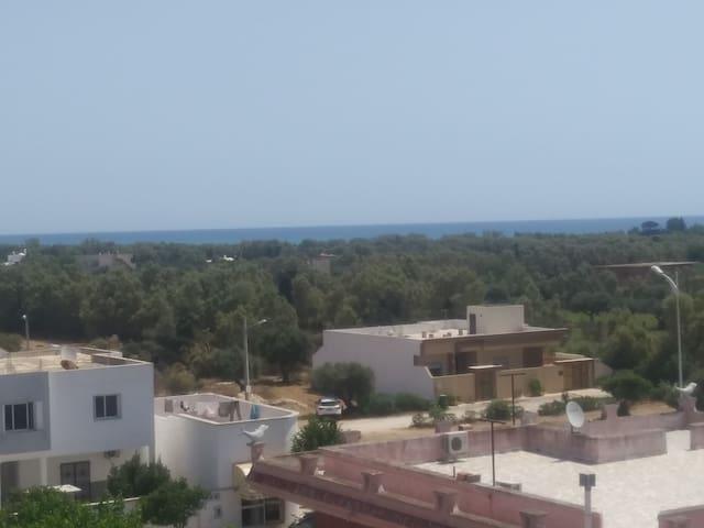 Beautiful see view Apt in Tazarka