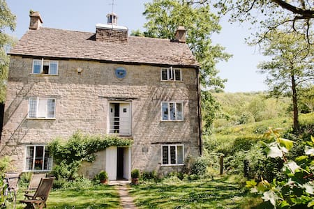 Grist Mill, Cotswold stone house at Owlpen (1728) - Near Uley - 獨棟