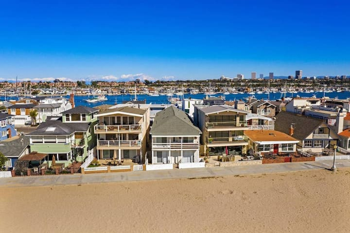 7 Newport Beach Dreamin', Bay facing ocean front