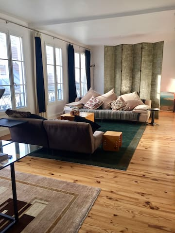90m2 Artist flat in a private passage Bastille