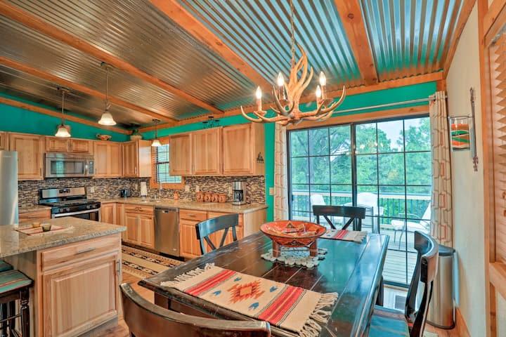 Updated & Pet-Friendly Ruidoso Downs Home w/ Deck!