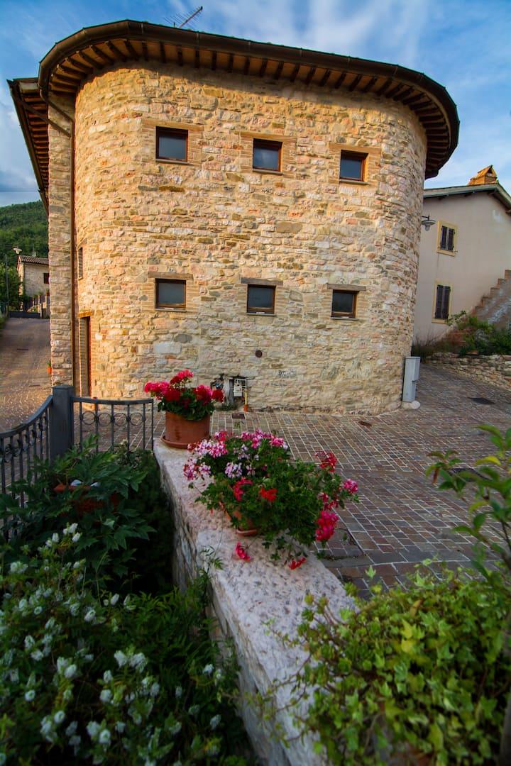 La terrazza sul borgo