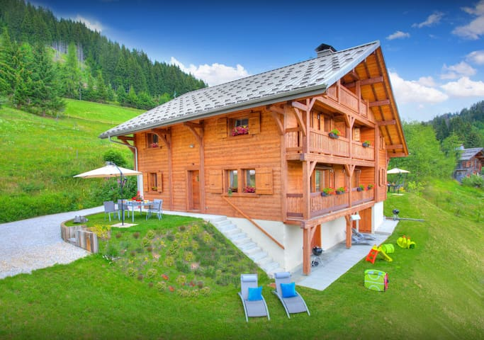 Pistes and restaurants nearby at this sunny French Alps home - OVO Network