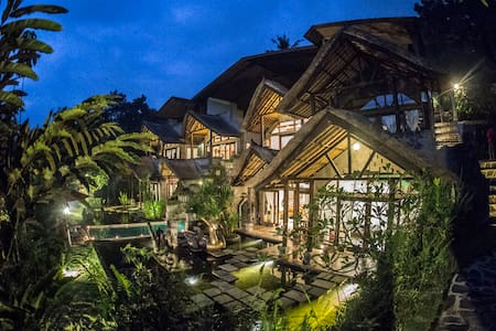 Castle Carved out of the mountain in Ubud - Ubud
