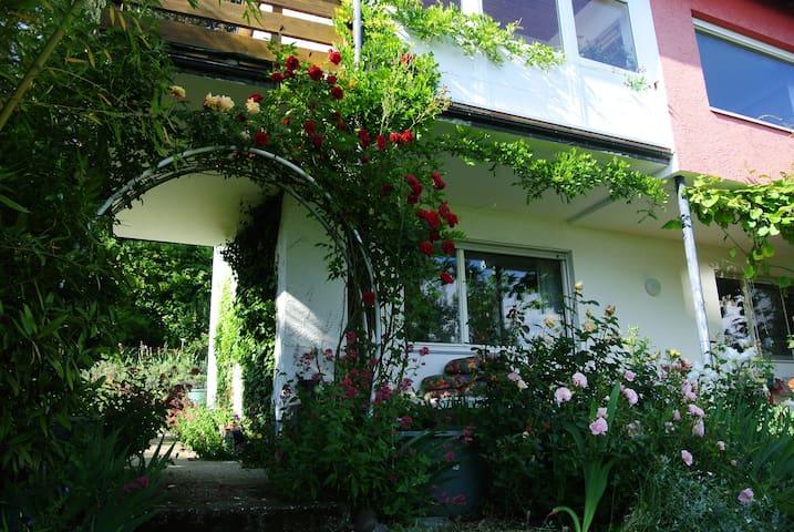 Ferienappartment im Grünen, 2km vom Bodensee - Daisendorf - Lejlighed