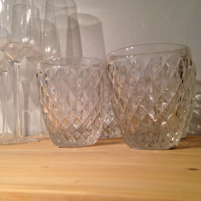Beautiful glass ware