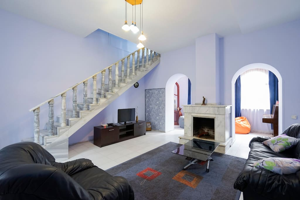 First floor. Living room