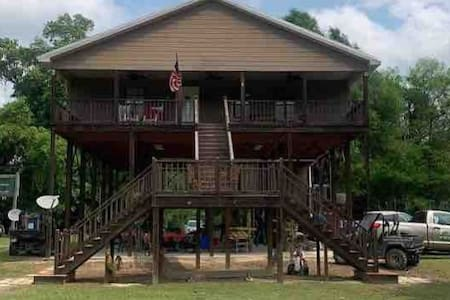 Camp House on Bogue Chitto River, Tylertown, MS