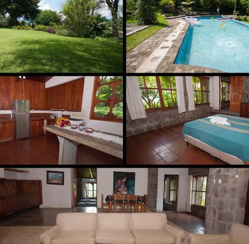 Three Bedroom House in Santiago Atitlan - Hus
