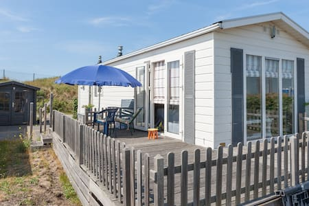 Chalet beside the dunes, beach and tulip fields - IJmuiden - Alpehytte
