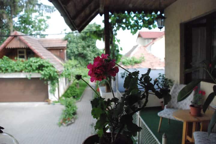 Saxon house&garden - half villa