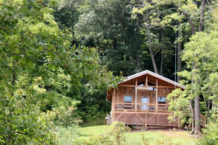 peaceful cabin with amazing views - Leicester - Cabaña