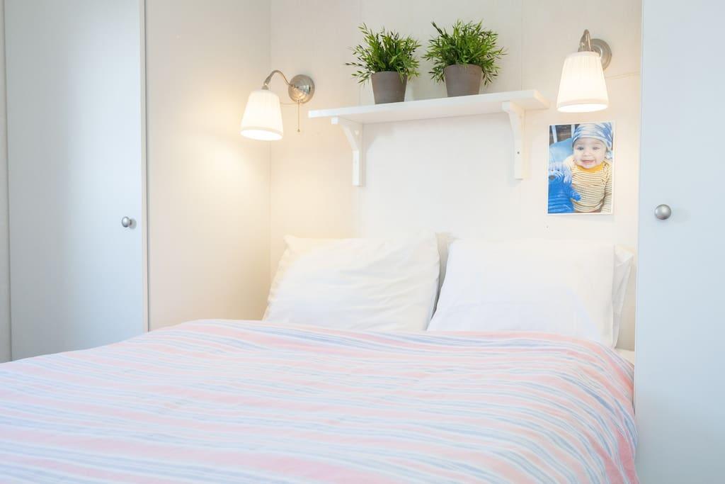Slaapkamer Tweepersoons bed