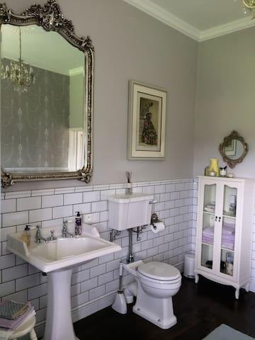 Huge en suite bathroom (bedroom 1)