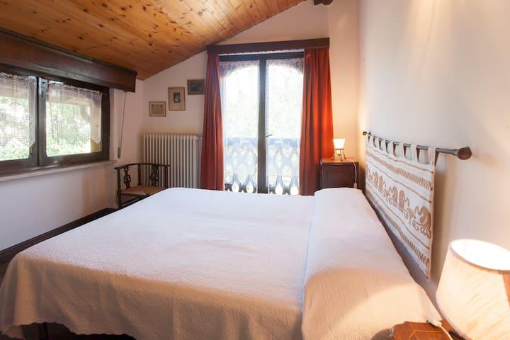 Room with double window