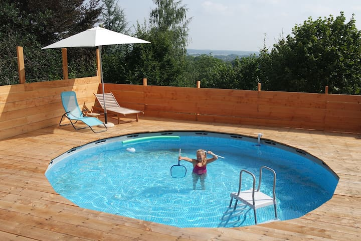 Warm house + pool - Semois Valley - Chiny - Ev
