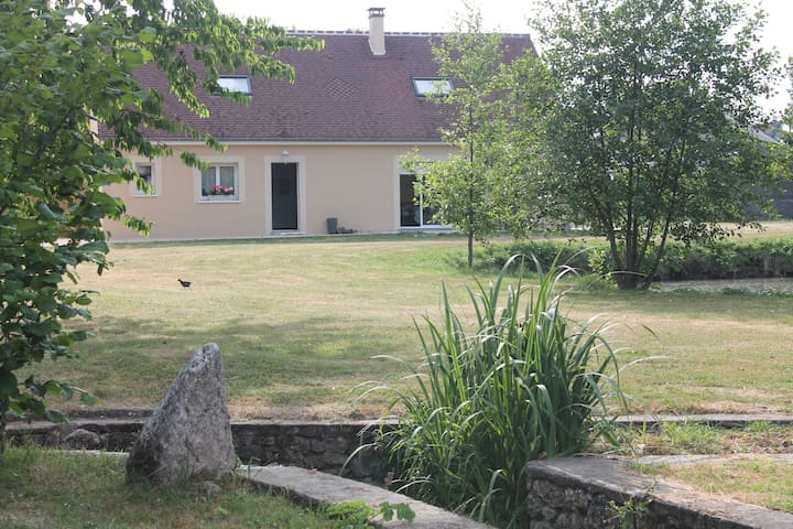 Chambres d'hotes La Cour du Moulin - Mer - Bed & Breakfast