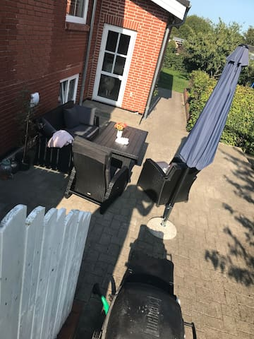 Weber gas grill can be used