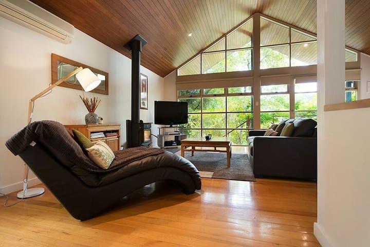 Swiss Style Tree House Villa