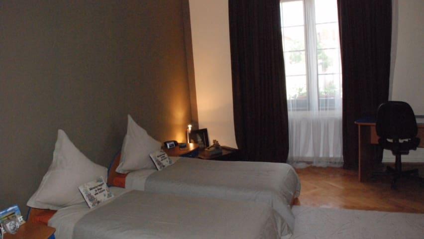 Charming rooms & garden in Sibiu