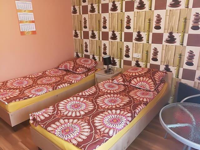 Dwa łóżka Pojedyńcze