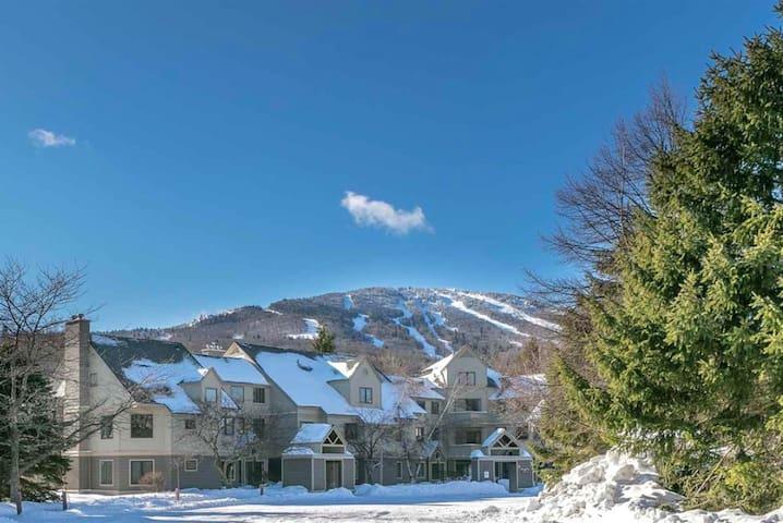 Stratton Resort 4 bedroom 3 bath Condo 0.5mile Ski