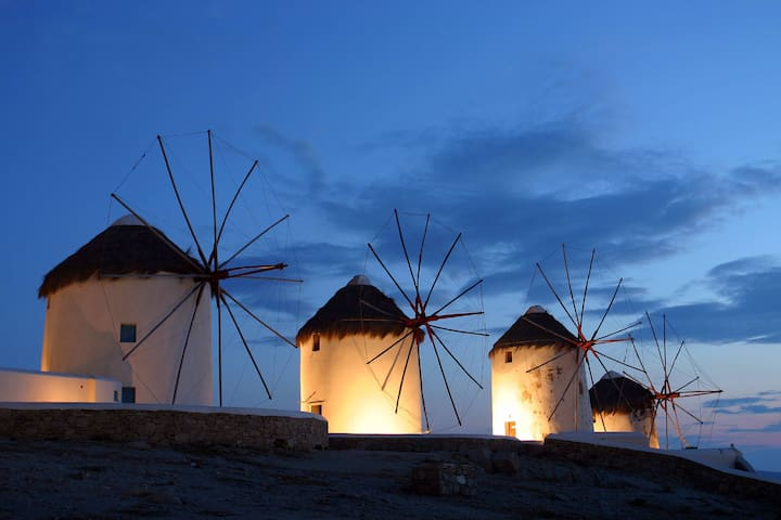 Wonderful Studio Inland of Mykonos - Mikonos - Apartment